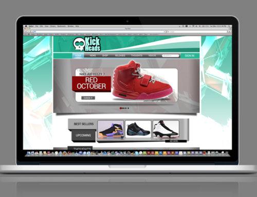 KickHeads Sneaker Website