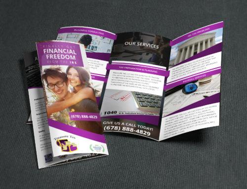 Treasure Tax Tri-Fold Brochure