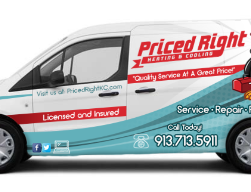 Priced Right Van Wrap